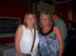 Dianna Boyer and Judi Ille Mc Sat. night