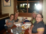 Lunch at Chilis with Renee, Zora and Susan